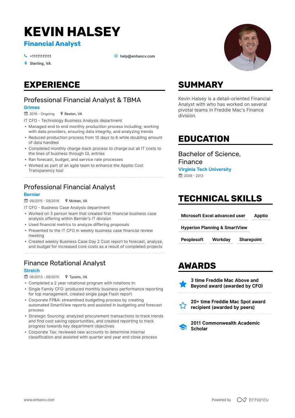 All for only $4 a month. Analyst Resume Sample Good Resume Examples