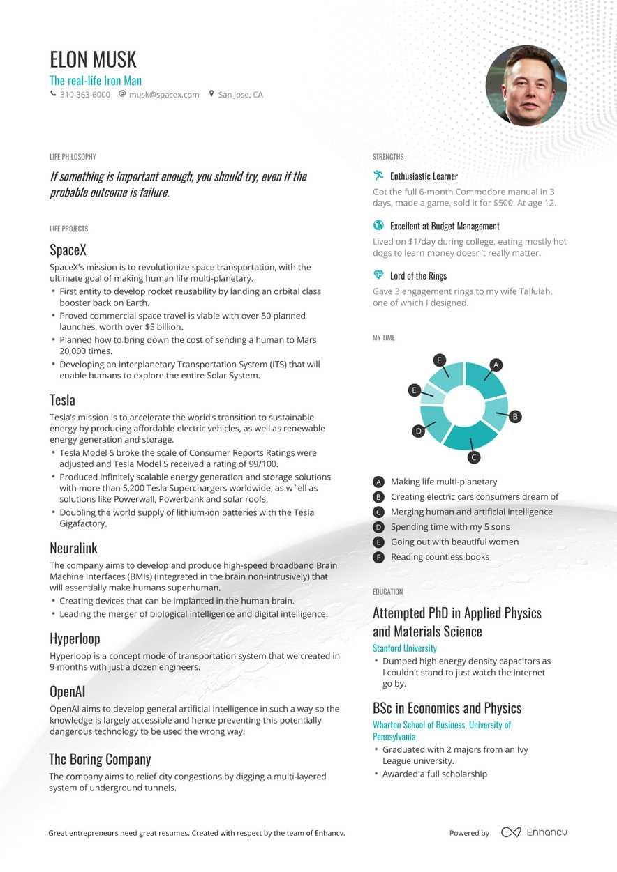 example of job resume pdf