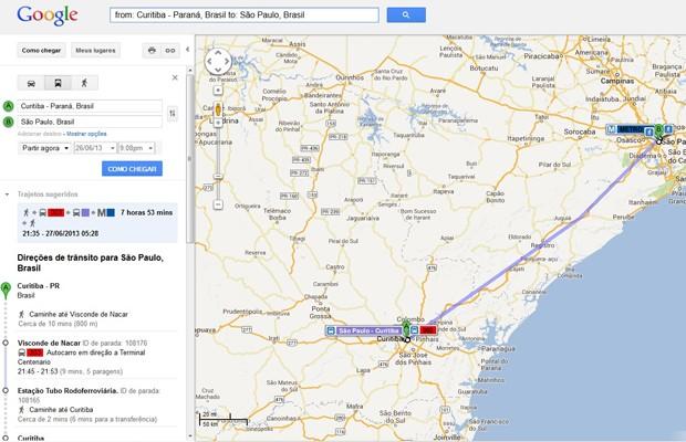 Google Maps Inclui Rotas De ônibus Interestaduais Para