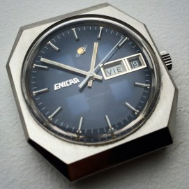 Mysterie dial Enicar from the early eighties.