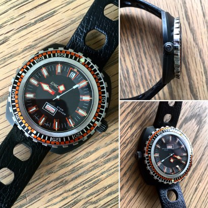 The Sherpa Star Diver, a rock star on the wrist.