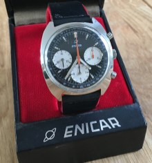 Three register chrono Valjoux 72