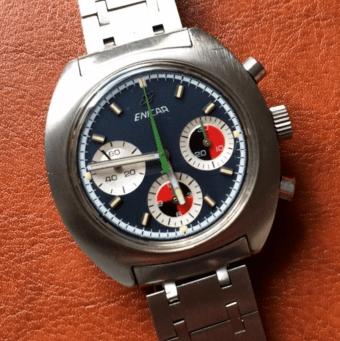 Ocean Pearl chronograph Valjoux 72