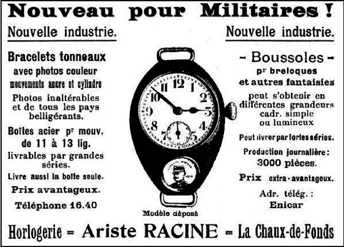 Military watch ad