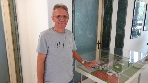 Herr Silvestri, Anlagewart of the building since 1981
