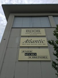 The current companies in the Enicar building