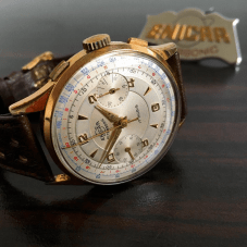 Gold plated chrono
