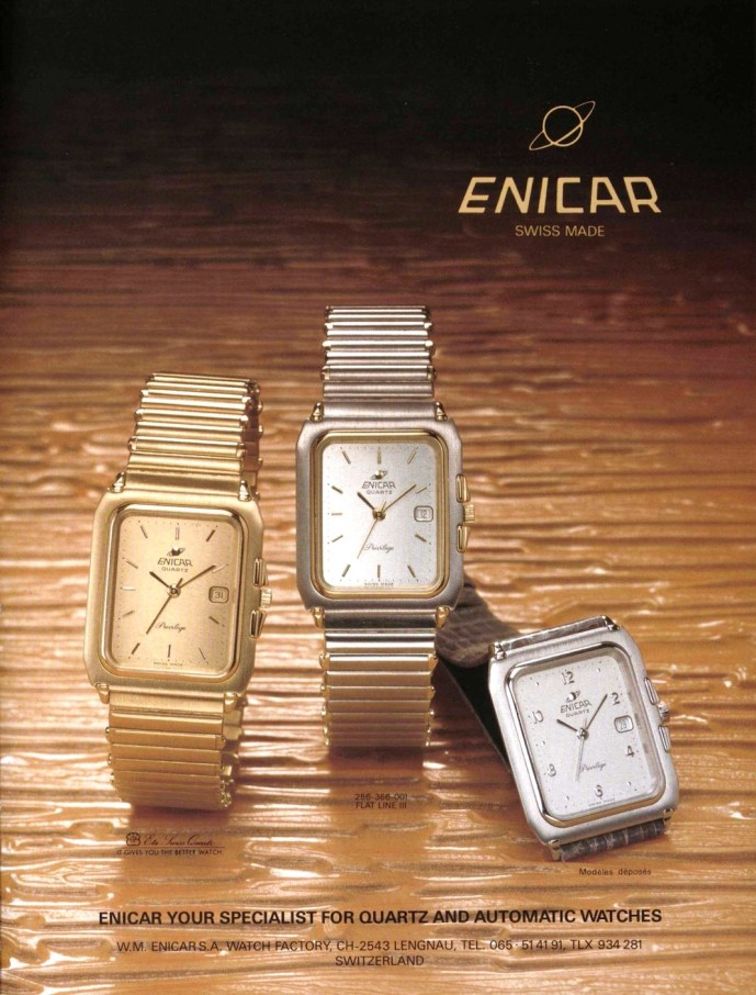 Enicar collection 1984