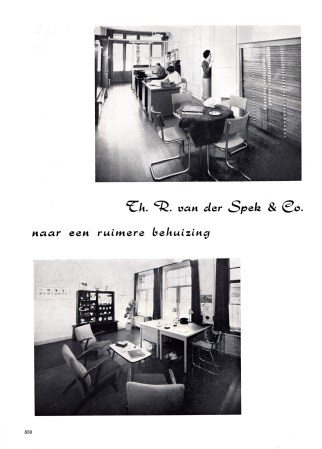 Head office of Van der Spek & Co.