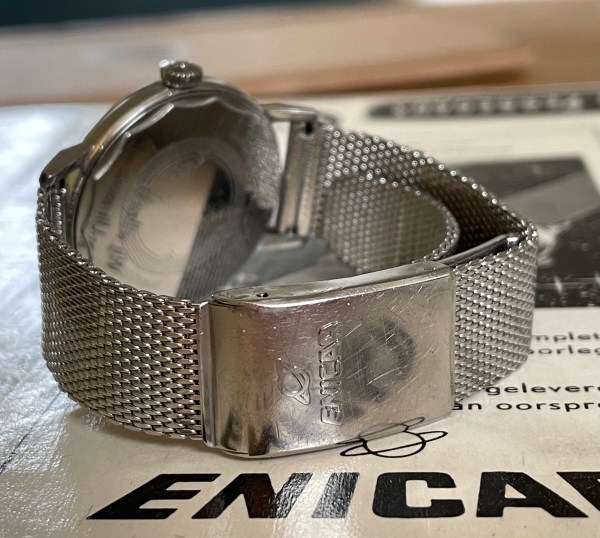 Enicar Seapearl bracelet