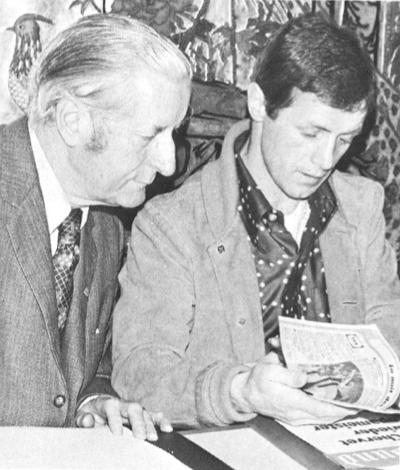 Ariste Racine and Fritz Chervet