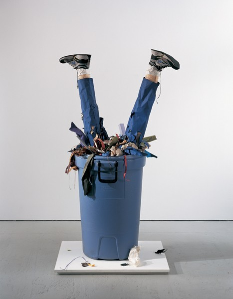 What can garbage cans grow?