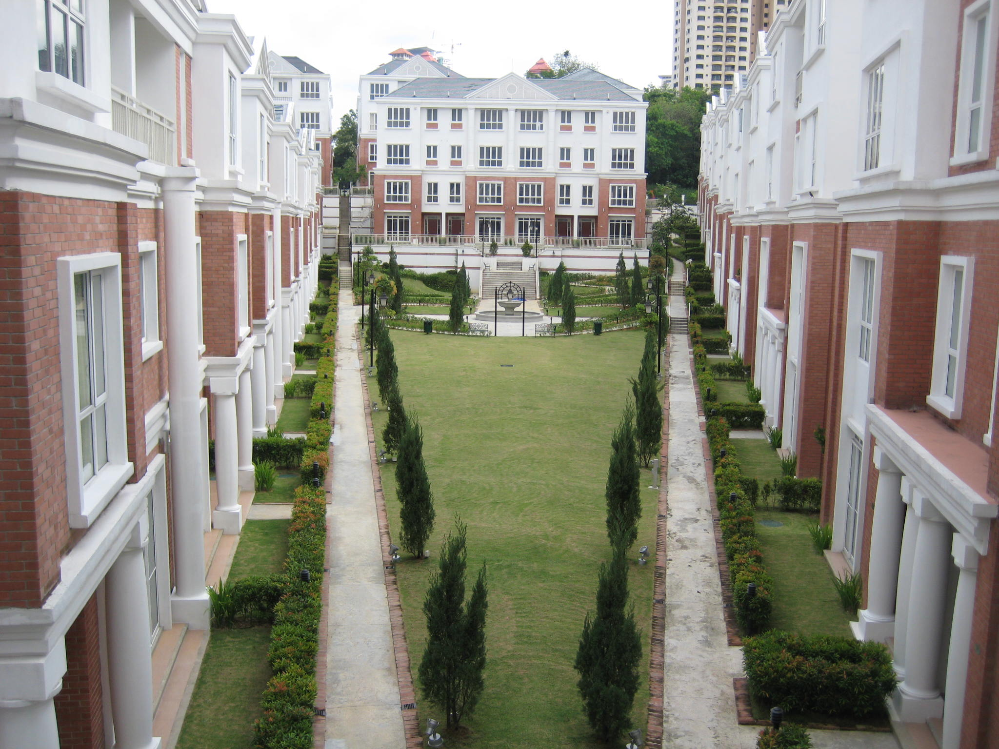 Mesra Terrace view from the Bath House.