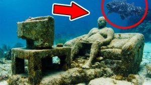 VIDEO: TOP 5 nejzáhadnějších objevů nalezených pod vodou