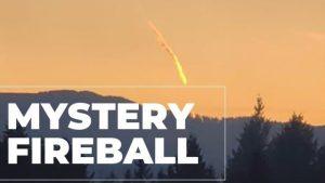 """Oregonští vyšetřovatelé řeší záhadu UFO: """"Nebyl to meteorit,"""" tvrdí"""