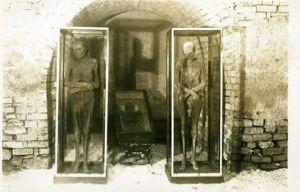 Mumie chomutovského kominíka