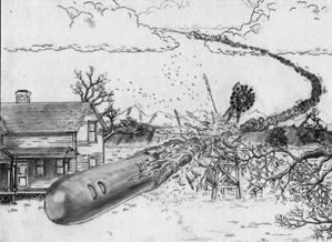V Texasu na konci 19. století havarovala vesmírná loď. Pilota místní lidé pohřbili