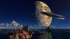 UFO při cestě na Zemi využívá mimozemskou dálnici