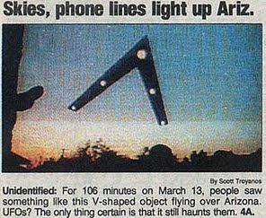 Světla ve Phoenixu: našli nás konečně návštěvníci z kosmu?