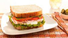 Sandwich de pan integral