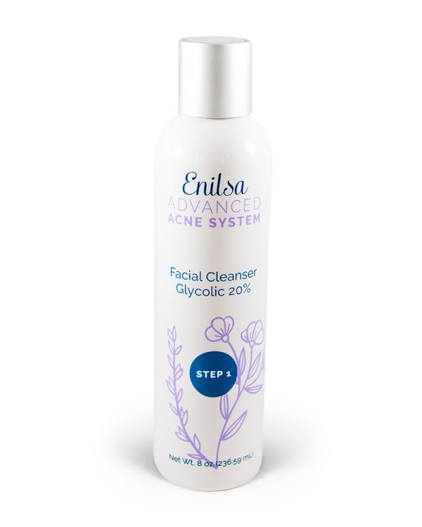 Enilsa Advanced Acne System -Facial Glycolic Cleanser 20%