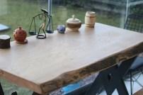 Kütük yemek masası