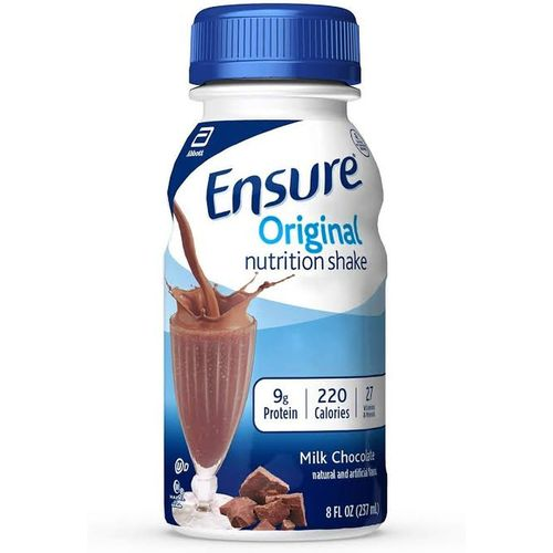 ENSURE ORIGINAL NUTRITION SHAKE MILK CHOCOLATE 237ML