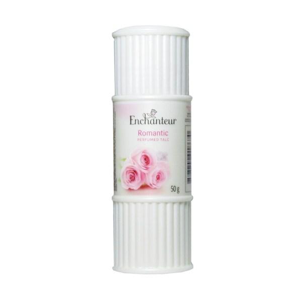 enchanteur romantic perfumed talc 50g