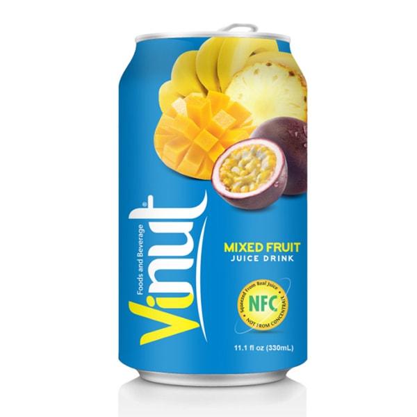 vietnam vinut mixed fruit juice drink 330ml