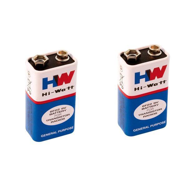 HI Watt 9V Battery