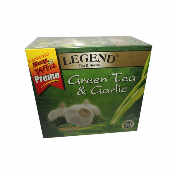 Legend Tea & Herbs Green Tea & Garlic 50g