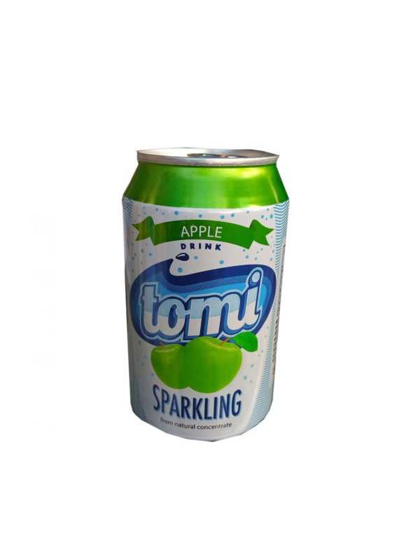 TOMI APPLE SPARKLING JUICE DRINK 330ML