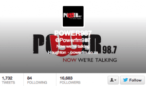 eNitiate Integrated Solutions | #Powerfm987 Twitter performance - 12