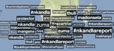 Trendsmap - 19 March, 4pm