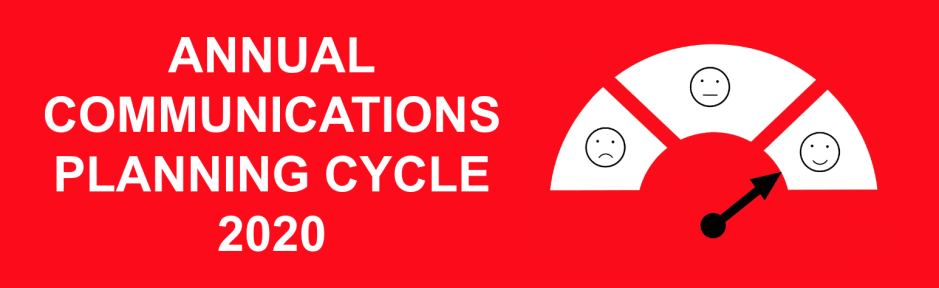 eNitiate Annual Communications Planning Cycle 2020 Campaign