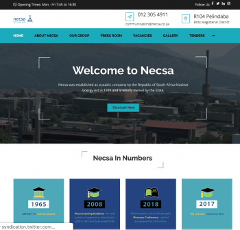 Necsa Website