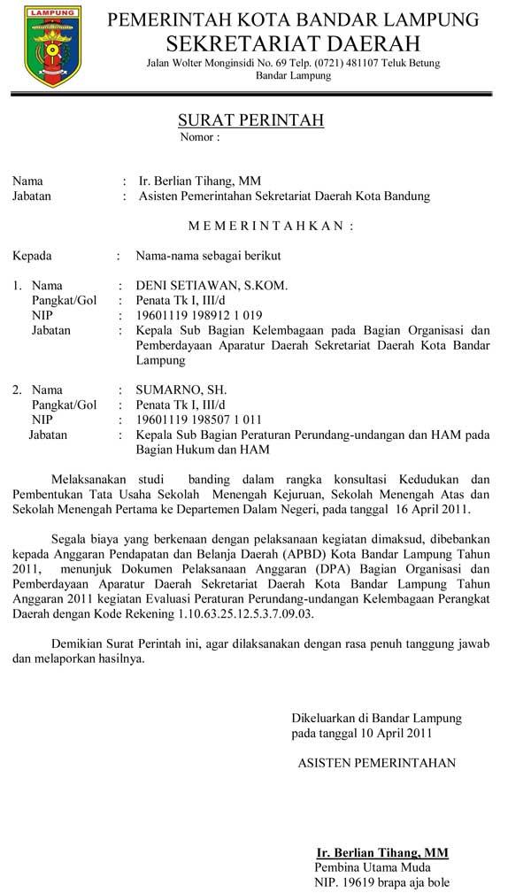 15 contoh surat resmi cara membuat undangan pemerintah contoh surat resmi stopboris Gallery
