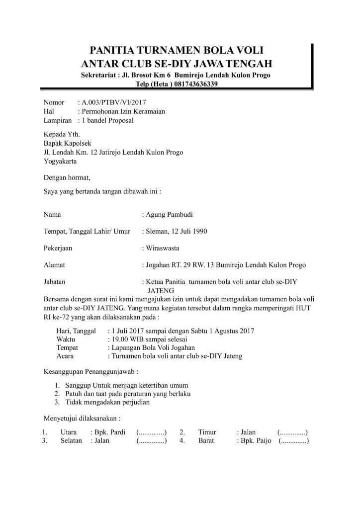 contoh surat pernyataan untuk sekolah - Contoh Surat
