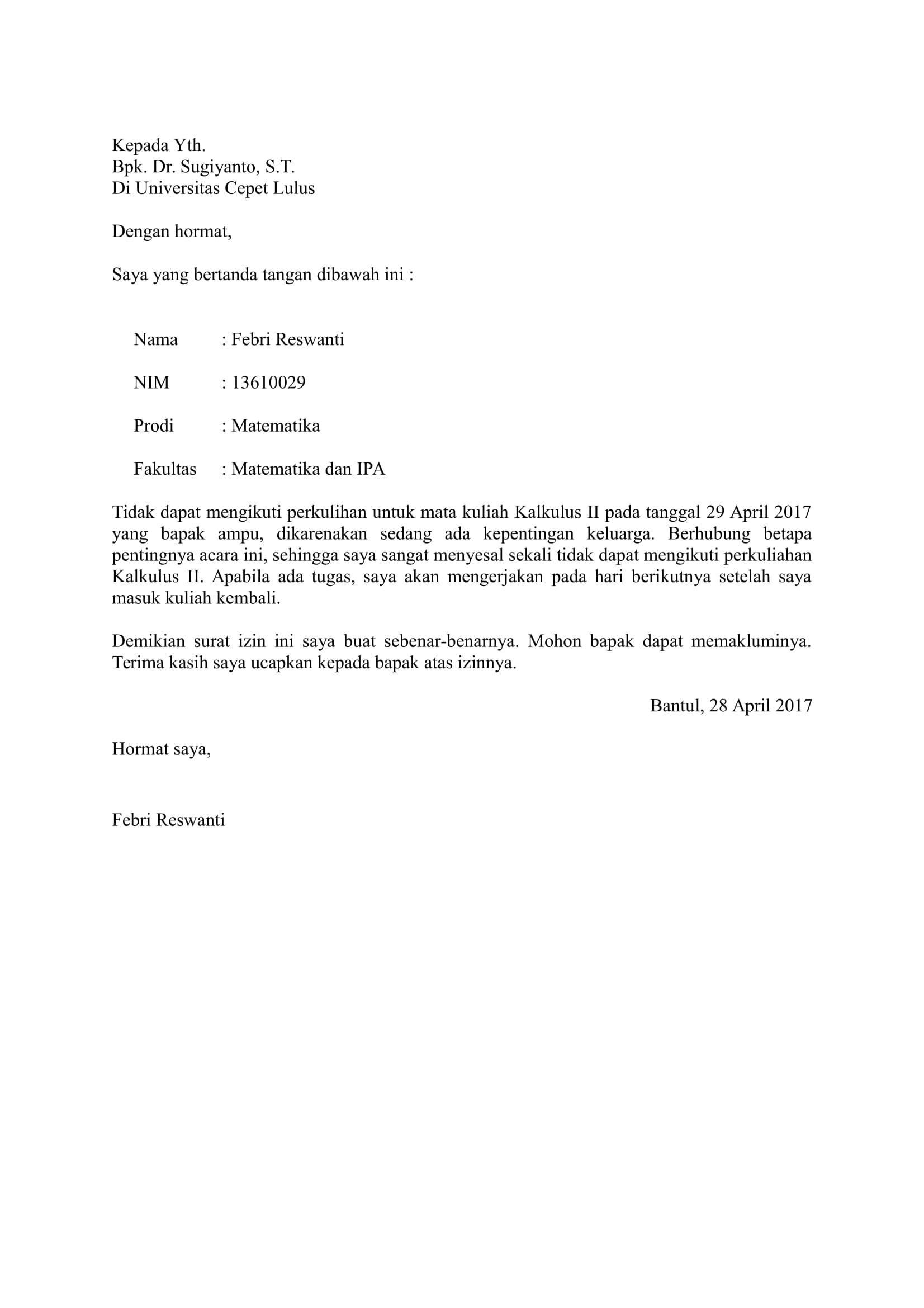 Terbaik Contoh Surat Permohonan Izin Renovasi Rumah ...