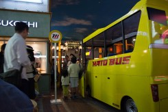お客さんとしてはとバスに乗車する事も。