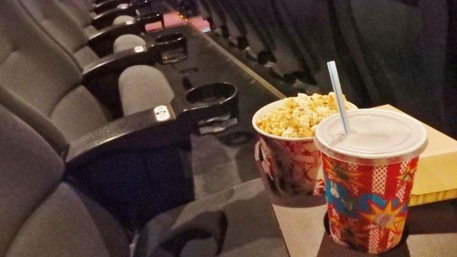 東映の株主優待「ポップコーンと映画館の座席」