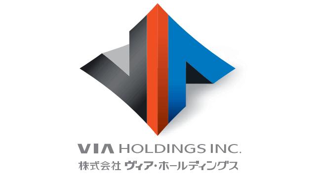 ヴィア・ホールディングス-会社ロゴ