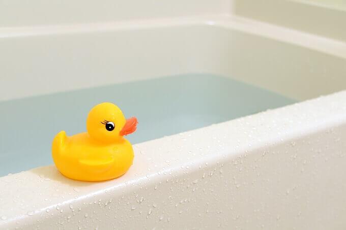 浴槽の残り湯