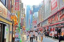 金券ショップの店舗イメージ「繁華街」