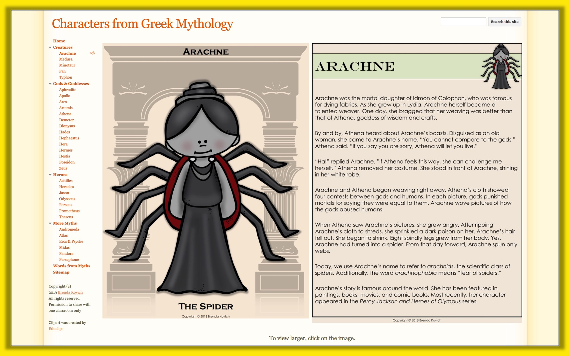Teaching Mythology With Ela Activities For Kids