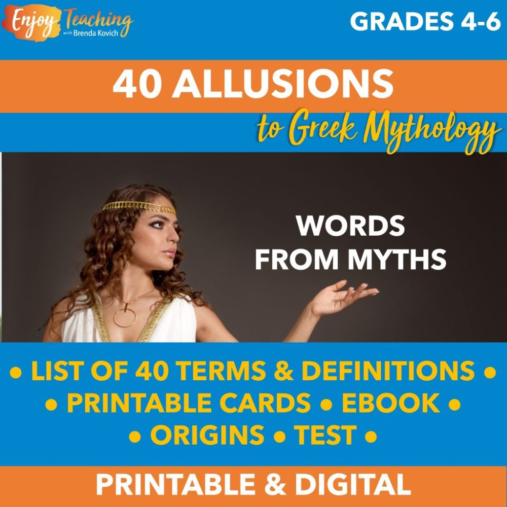 medium resolution of Teaching Mythology with ELA Activities for Your Fourth Grade Students