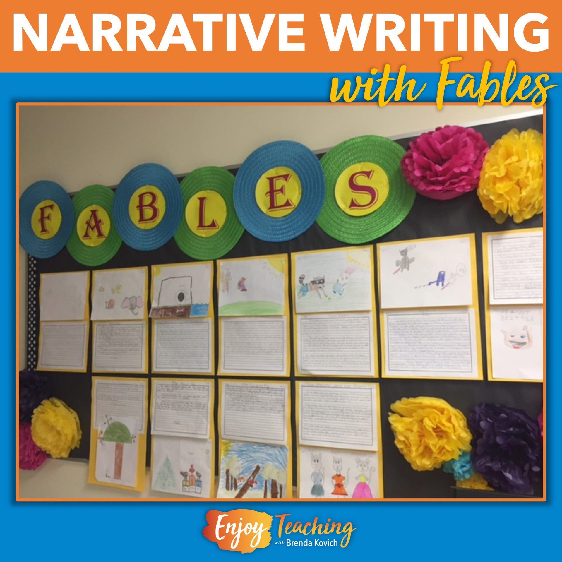 hight resolution of Fables First - Beginning Narrative Writing with Short