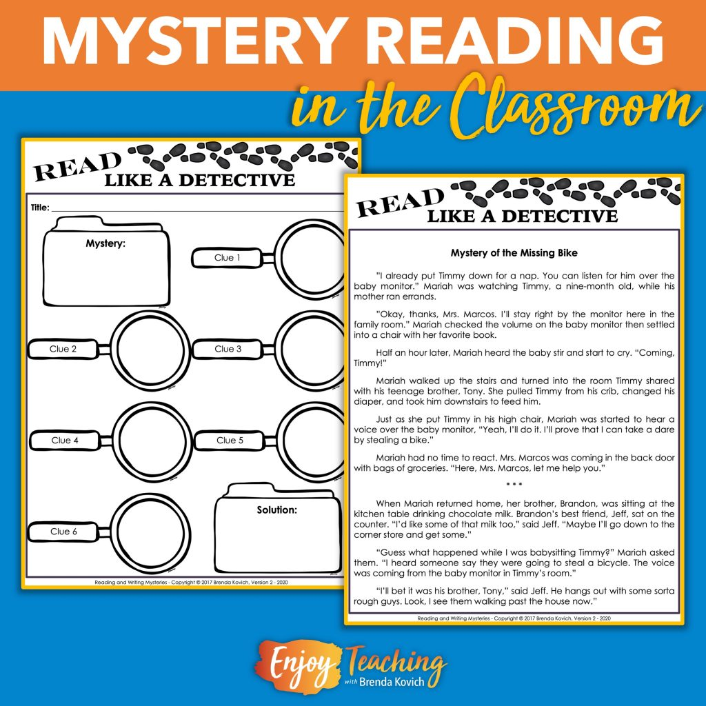 Reading Mysteries Builds Critical Thinking