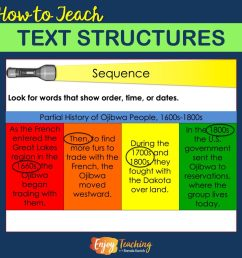 How to Teach Text Structures - Fourth Grade Informational Text [ 1024 x 1024 Pixel ]
