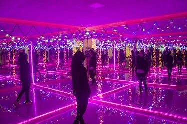 Mirror illusion room